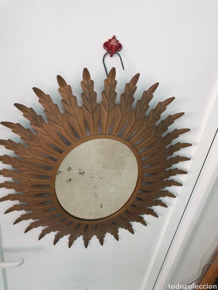 Vintage: Espejo de hierro 70x61 - Foto 4 - 210646424