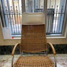 Vintage: MECEDORA DE TARAN Y METAL. Lote 210949882