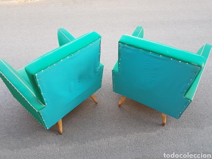 Vintage: Magnifica pareja sillones retro vintage - Foto 4 - 212407605