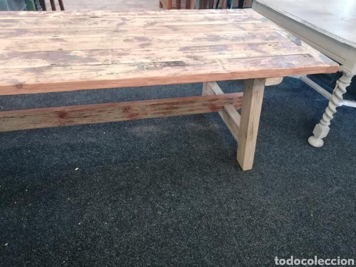 Vintage: Mesa de madera reciclada - Foto 2 - 213493046