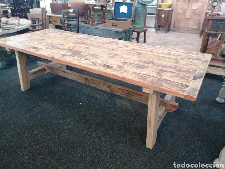 Vintage: Mesa de madera reciclada - Foto 3 - 213493046