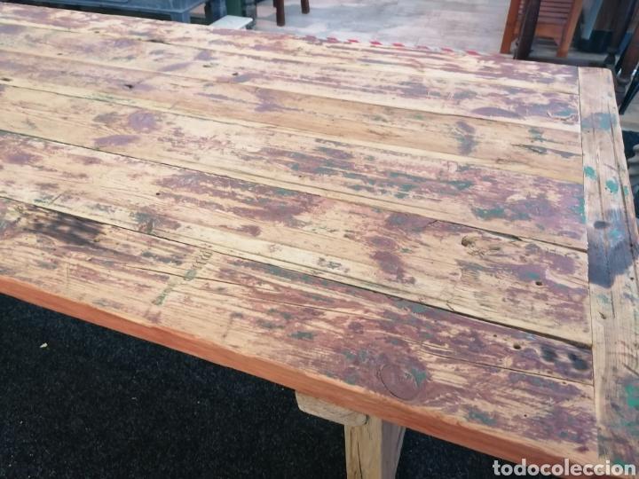 Vintage: Mesa de madera reciclada - Foto 4 - 213493046