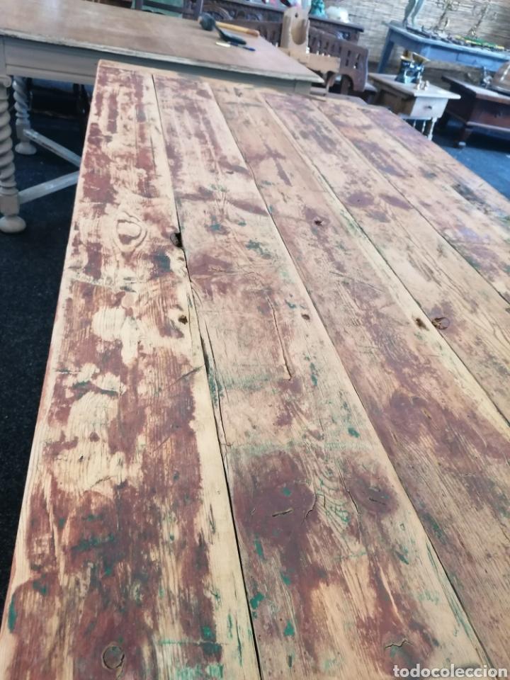 Vintage: Mesa de madera reciclada - Foto 5 - 213493046