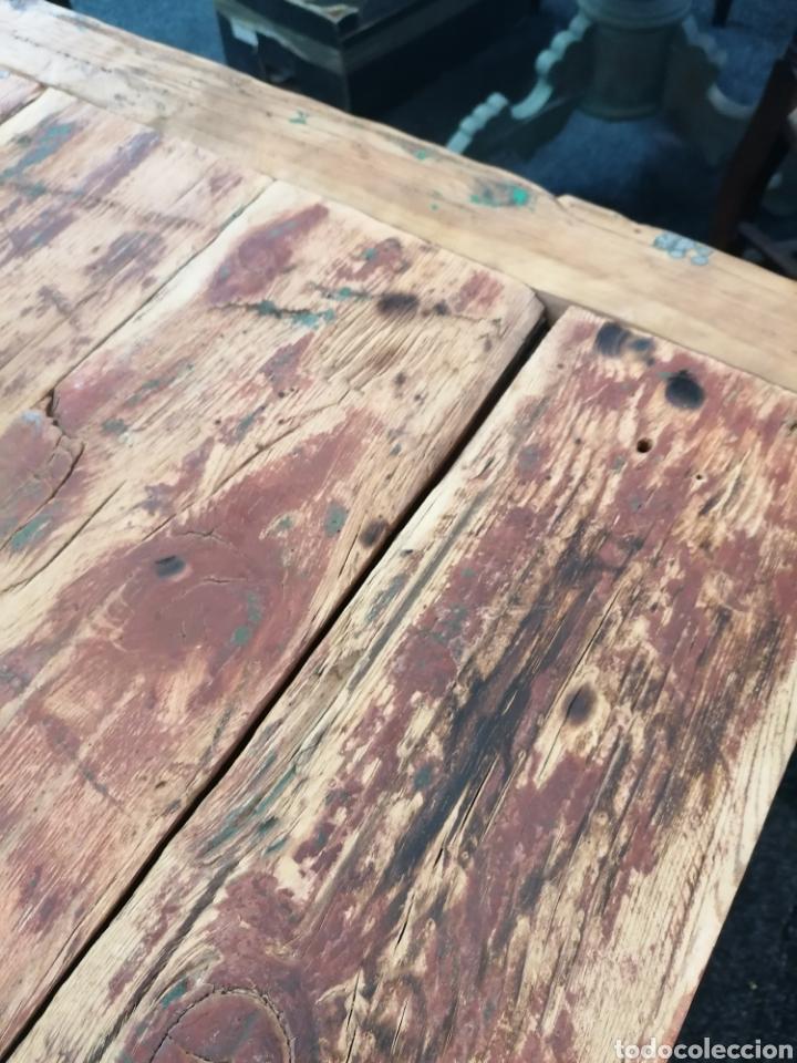 Vintage: Mesa de madera reciclada - Foto 7 - 213493046