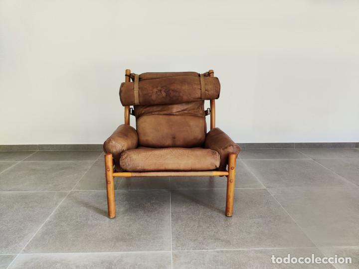 Vintage: Exclusivo Sillon original Inca de Arne Norell, 1960s - Foto 3 - 214857477