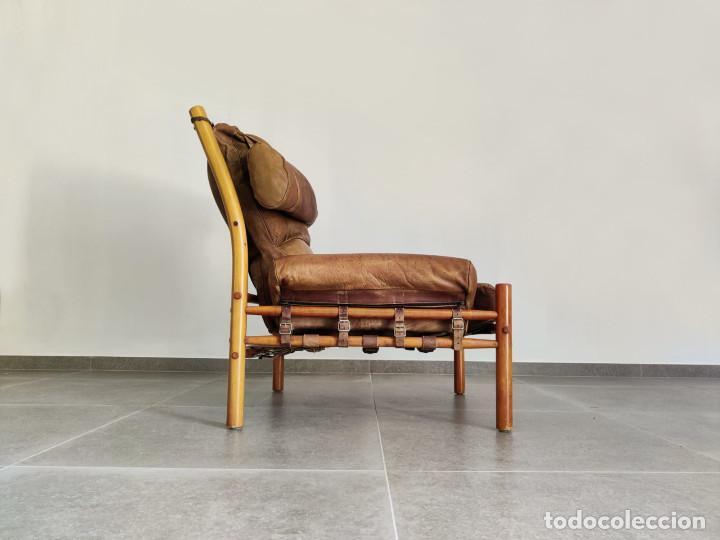 Vintage: Exclusivo Sillon original Inca de Arne Norell, 1960s - Foto 5 - 214857477