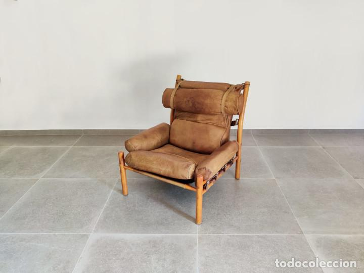 Vintage: Exclusivo Sillon original Inca de Arne Norell, 1960s - Foto 6 - 214857477