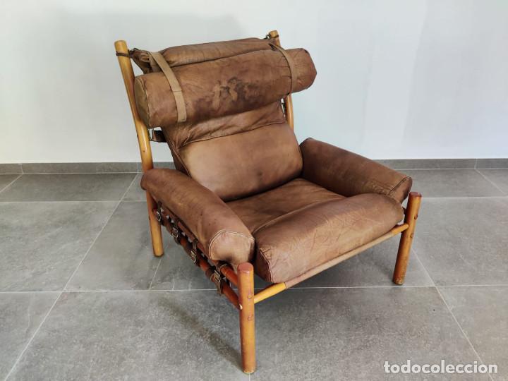 Vintage: Exclusivo Sillon original Inca de Arne Norell, 1960s - Foto 7 - 214857477