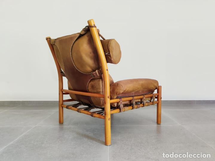 Vintage: Exclusivo Sillon original Inca de Arne Norell, 1960s - Foto 8 - 214857477