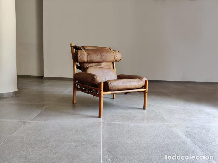 Vintage: Exclusivo Sillon original Inca de Arne Norell, 1960s - Foto 9 - 214857477