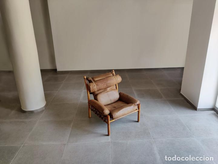 Vintage: Exclusivo Sillon original Inca de Arne Norell, 1960s - Foto 10 - 214857477