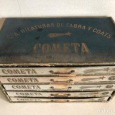 Vintage: MUEBLE HILATURAS FABRA Y COATS. Lote 215615690