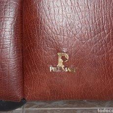 Vintage: SOFA Y SILLONES PIEL MART AÑOS 90. Lote 216990890