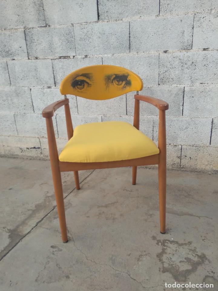 SILLA DE DISEÑO DANES, REACONDICIONADA (Vintage - Muebles)