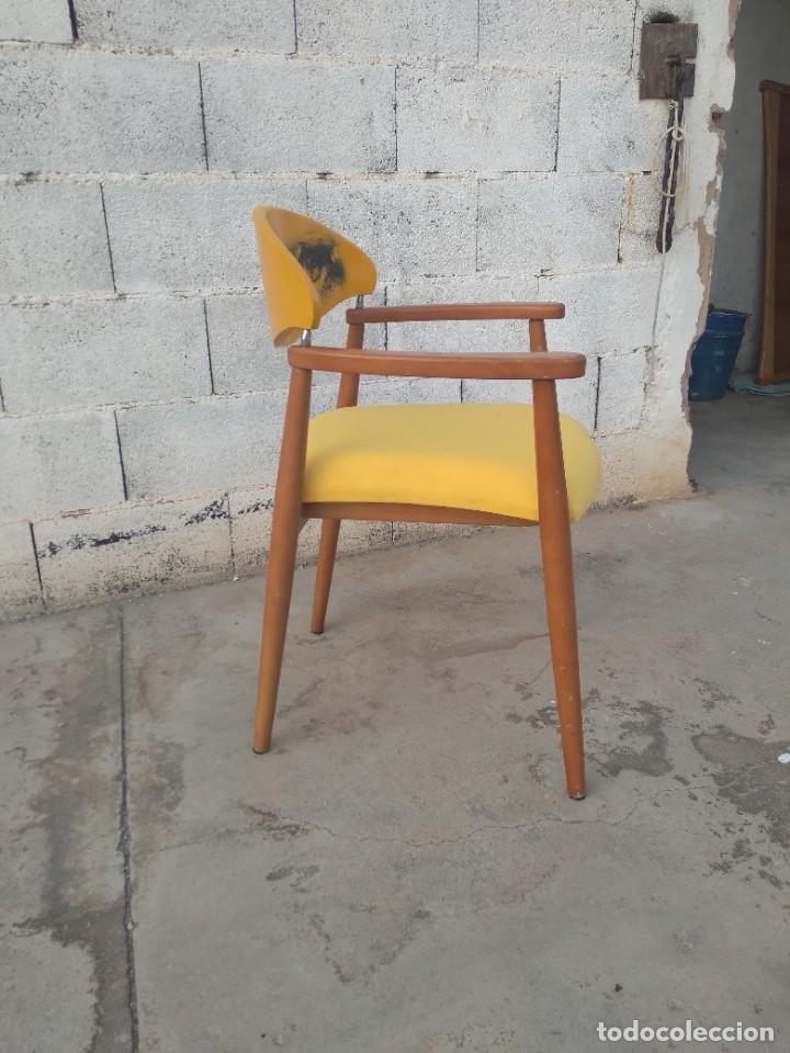 Vintage: Silla de diseño danes, reacondicionada - Foto 2 - 217962340