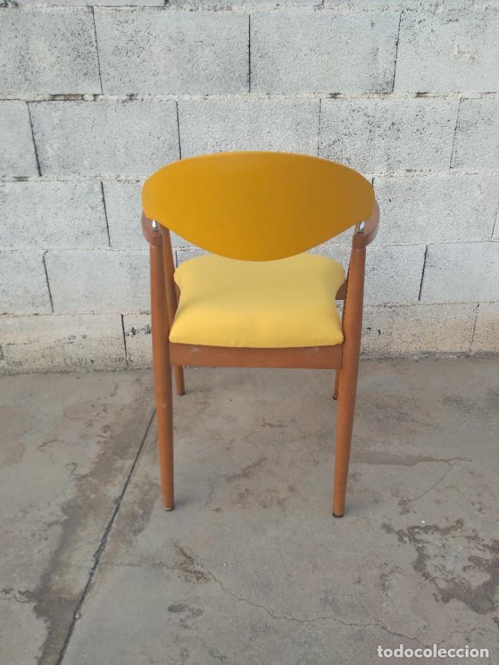 Vintage: Silla de diseño danes, reacondicionada - Foto 3 - 217962340