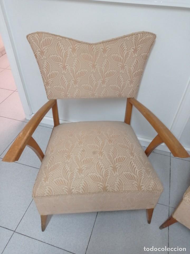 Vintage: Pareja de sillones butacas originales época vintage años 70 - Foto 2 - 218009755