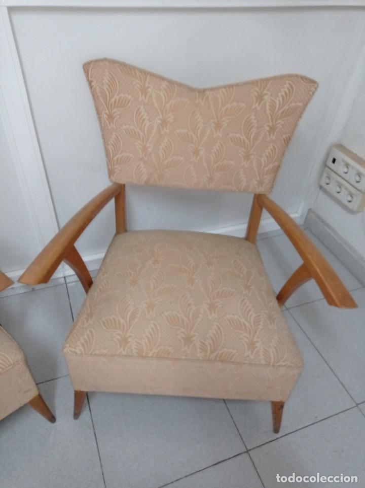 Vintage: Pareja de sillones butacas originales época vintage años 70 - Foto 3 - 218009755