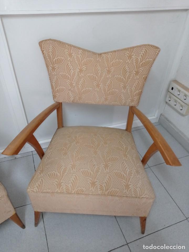 Vintage: Pareja de sillones butacas originales época vintage años 70 - Foto 4 - 218009755