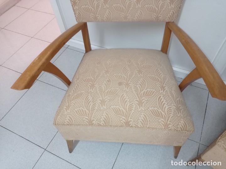 Vintage: Pareja de sillones butacas originales época vintage años 70 - Foto 6 - 218009755