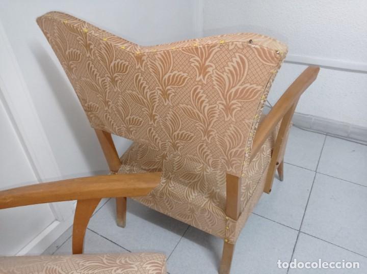 Vintage: Pareja de sillones butacas originales época vintage años 70 - Foto 8 - 218009755