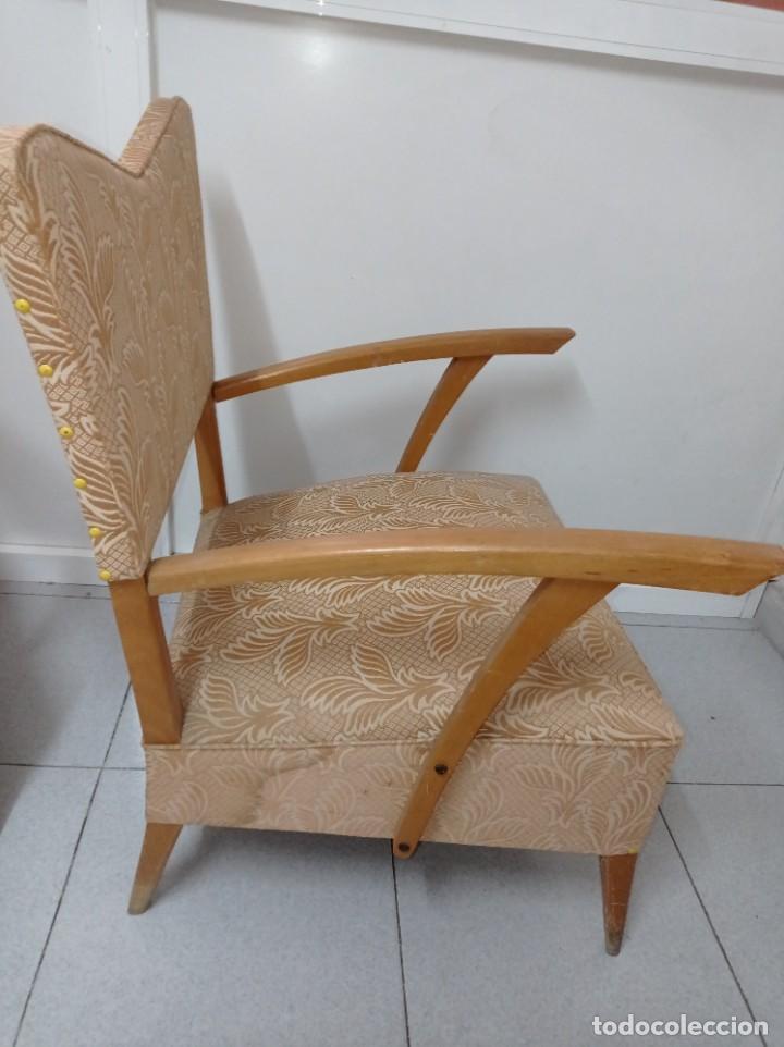 Vintage: Pareja de sillones butacas originales época vintage años 70 - Foto 9 - 218009755