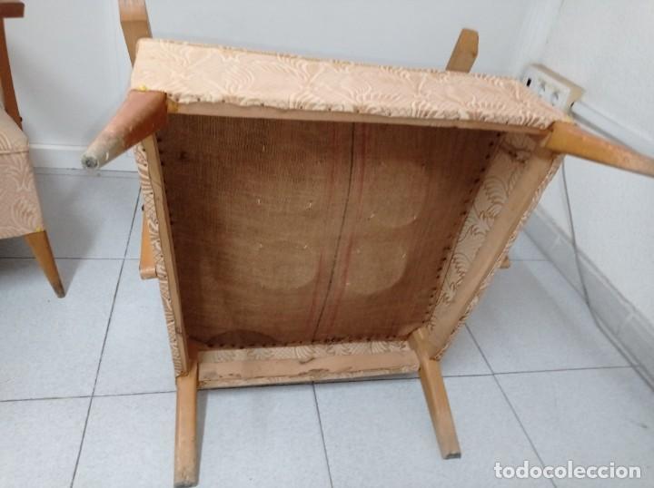 Vintage: Pareja de sillones butacas originales época vintage años 70 - Foto 10 - 218009755