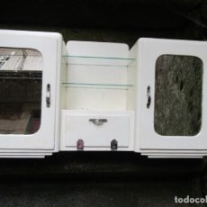 Vintage: VINTAGE - MUEBLE FARMACIA BOTIQUIN ETC ASEO WC - DE LOS 50'S MADERA, 85X40X18CM 11KG + INFO. Lote 221415651