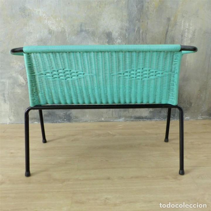 Vintage: Banco vintage con dos sillas. 1960 - 1970 - Foto 9 - 221515677