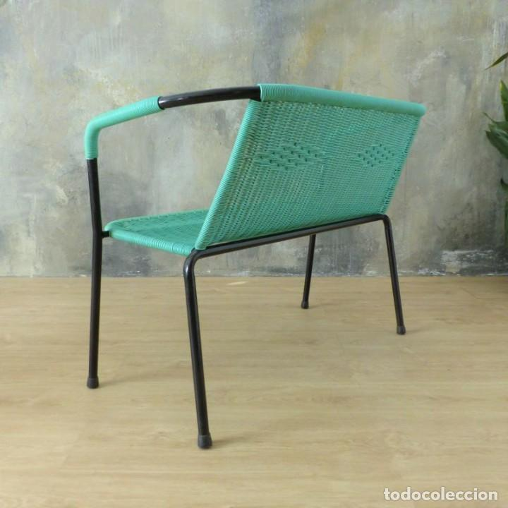 Vintage: Banco vintage con dos sillas. 1960 - 1970 - Foto 10 - 221515677