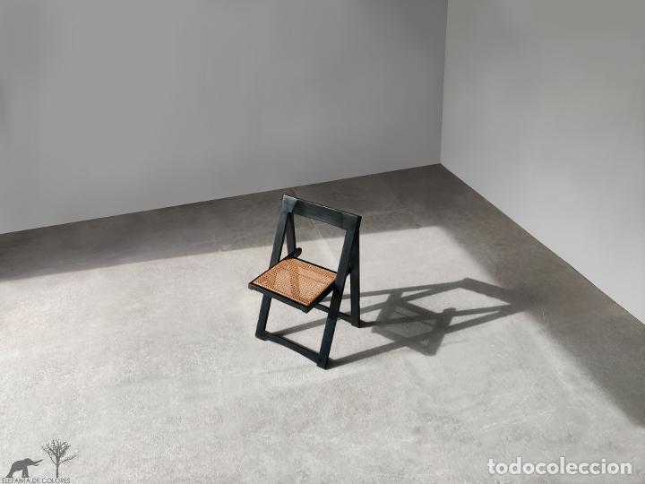 Vintage: Juego de 6 sillas plegables by Aldo Jacober, 1960s - Foto 5 - 221942891