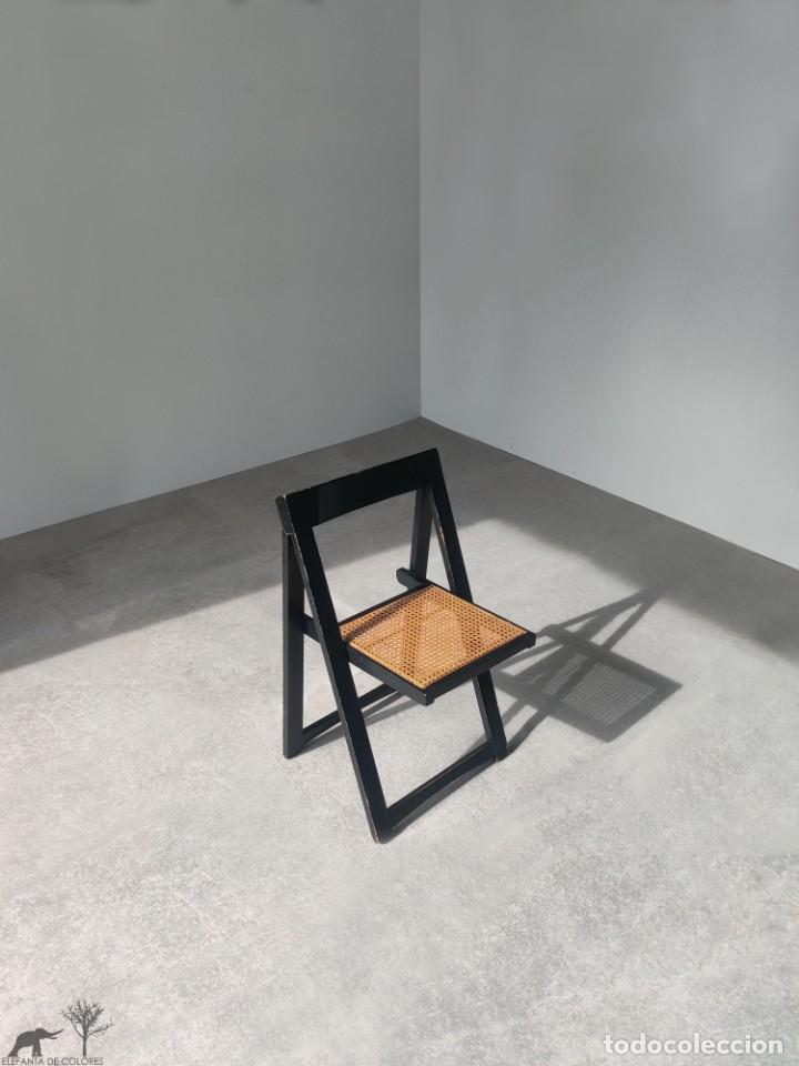 Vintage: Juego de 6 sillas plegables by Aldo Jacober, 1960s - Foto 6 - 221942891