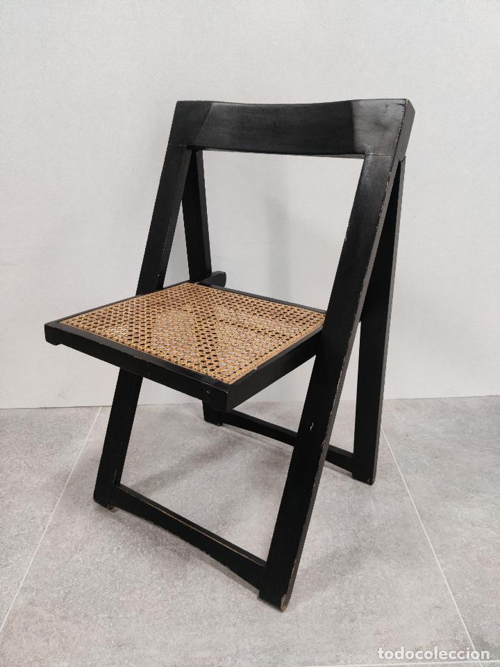 Vintage: Juego de 6 sillas plegables by Aldo Jacober, 1960s - Foto 9 - 221942891