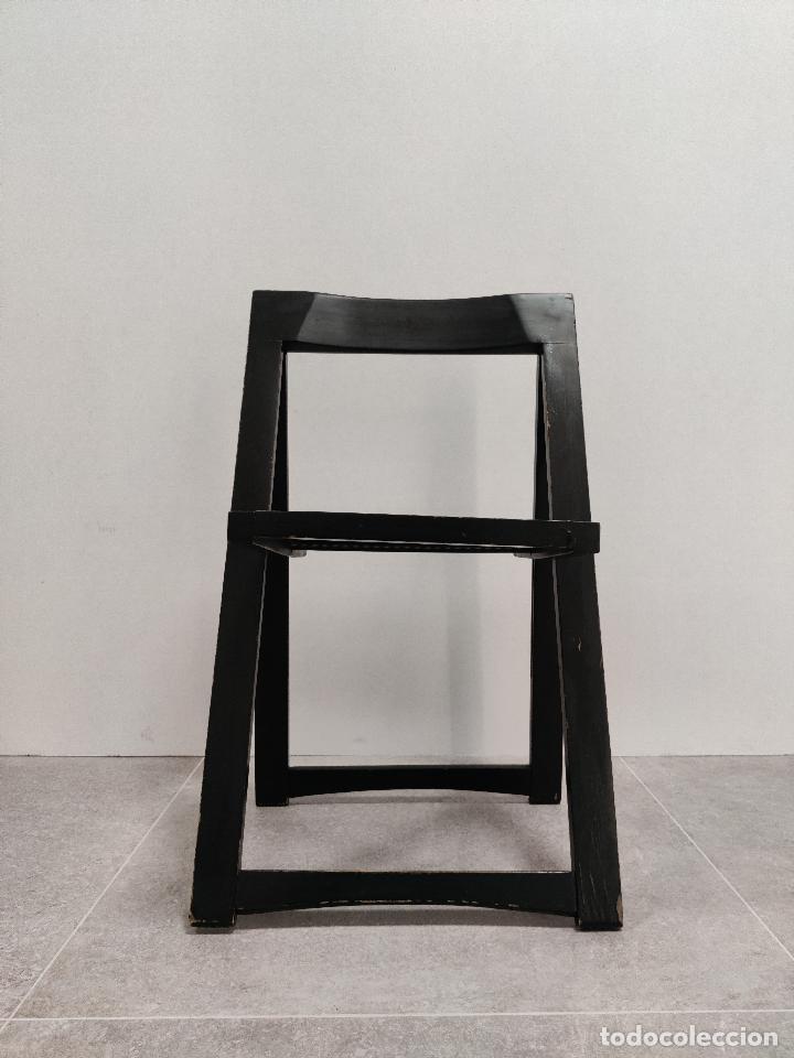 Vintage: Juego de 6 sillas plegables by Aldo Jacober, 1960s - Foto 10 - 221942891
