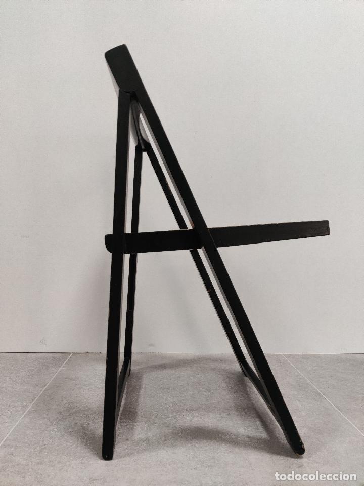 Vintage: Juego de 6 sillas plegables by Aldo Jacober, 1960s - Foto 11 - 221942891
