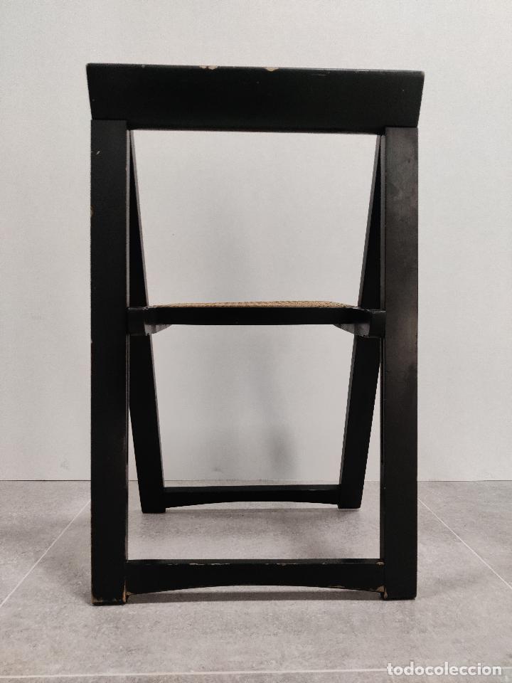 Vintage: Juego de 6 sillas plegables by Aldo Jacober, 1960s - Foto 12 - 221942891