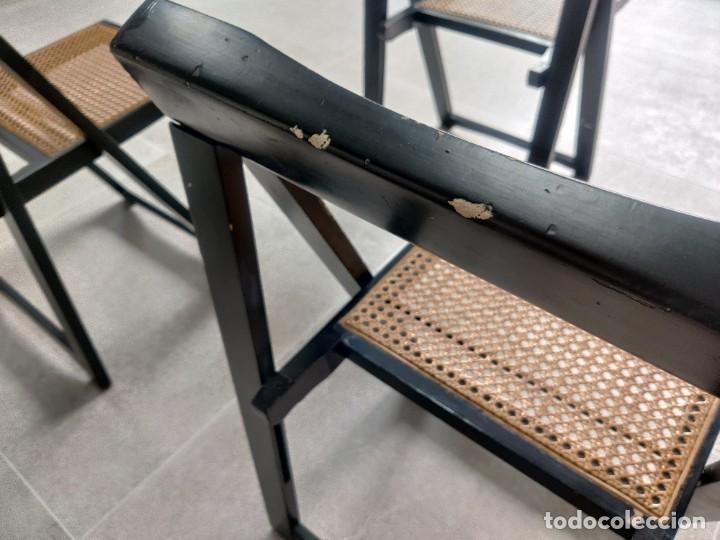 Vintage: Juego de 6 sillas plegables by Aldo Jacober, 1960s - Foto 16 - 221942891