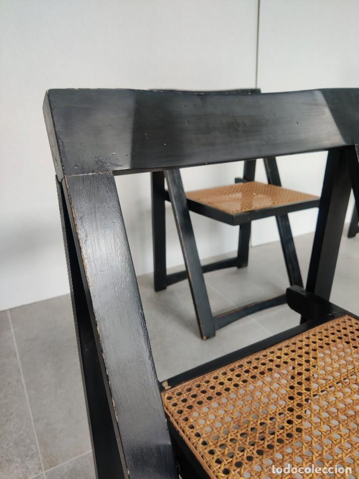 Vintage: Juego de 6 sillas plegables by Aldo Jacober, 1960s - Foto 18 - 221942891