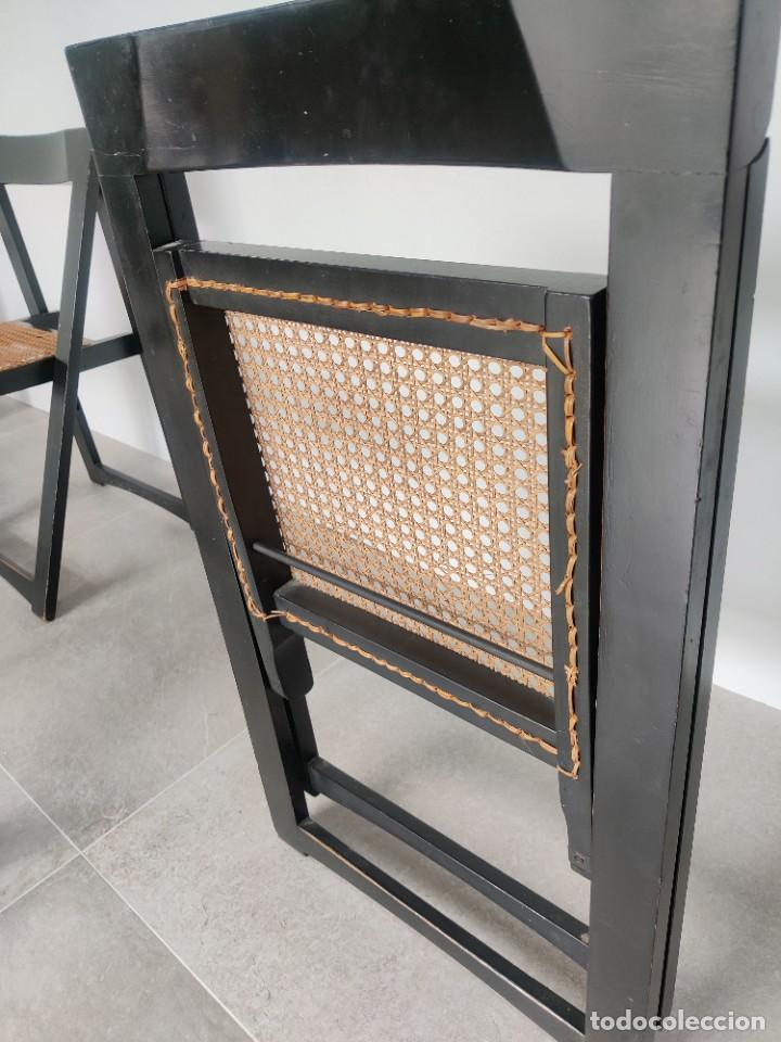 Vintage: Juego de 6 sillas plegables by Aldo Jacober, 1960s - Foto 24 - 221942891