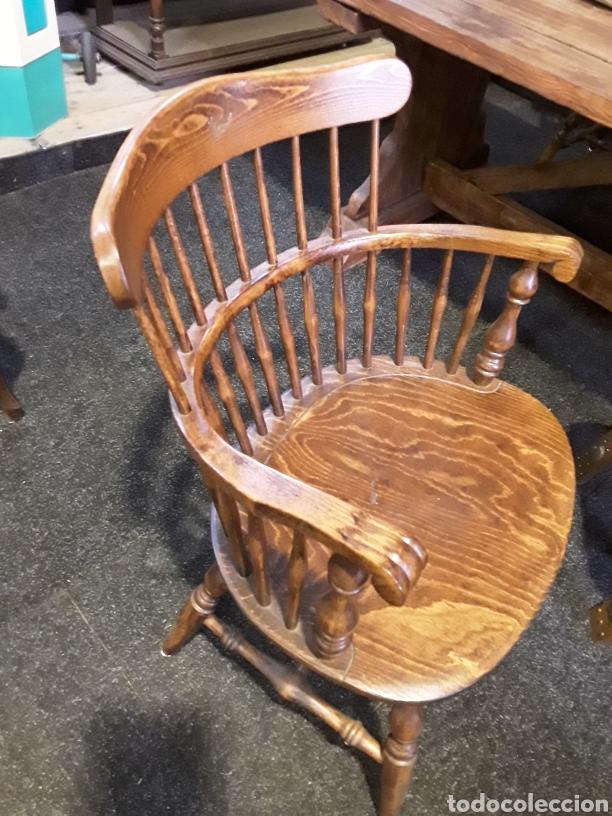Vintage: Sillón, butaca de madera - Foto 2 - 222456992