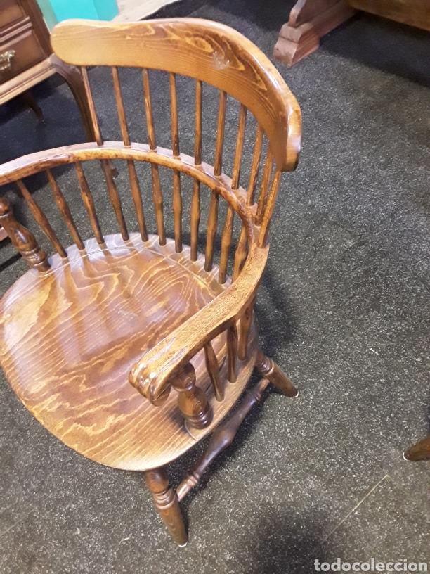 Vintage: Sillón, butaca de madera - Foto 3 - 222456992