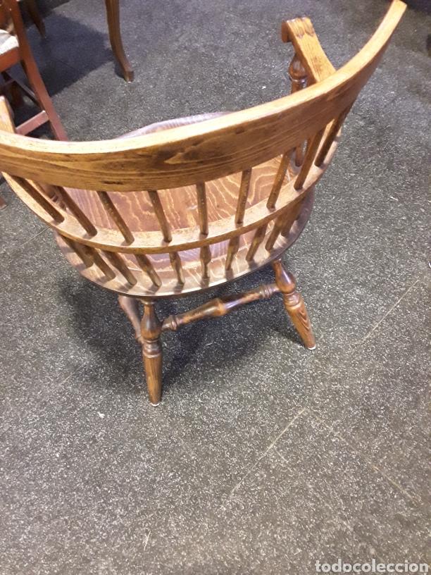 Vintage: Sillón, butaca de madera - Foto 4 - 222456992