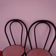 Vintage: SILLAS DE METAL ESTILO THONET. Lote 225184710