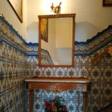 Vintage: CONSOLA + ESPEJO+ 2 SILLAS. Lote 226212140