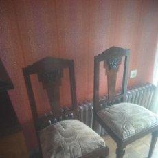 Vintage: LOTE DE 6 SILLAS ART DECO. Lote 226929385