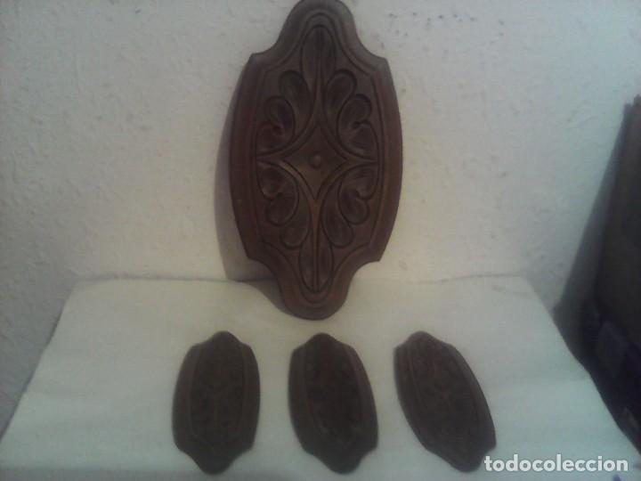LOTE MOLDURAS DE MADERA (Vintage - Muebles)
