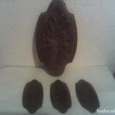 Vintage: LOTE MOLDURAS DE MADERA. Lote 228034835