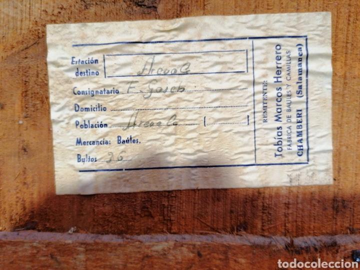 Vintage: Baúl madera y chapa - Foto 4 - 231499725