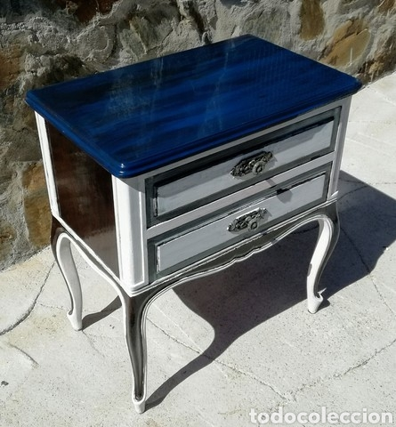 Vintage: Antigua mesilla pintada - Foto 6 - 233915115