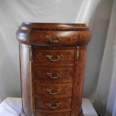 Vintage: CHIFONIER SEMICIRCULAR BARNIZ MATE. Lote 238491430